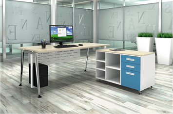 板式办公桌 EY-BS649