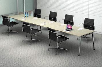 板式办公会议桌-办公室会议桌-上海办公家具厂家-会议桌尺寸