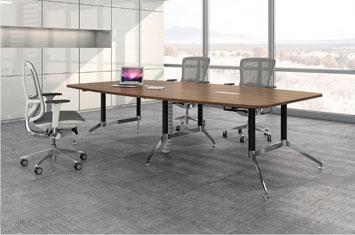折叠会议桌-会议桌摆放-员工会议桌-厂家直销会议桌