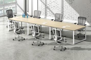 会议桌-实木会议桌-深圳板式家具-办公桌会议桌