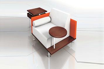 时尚布艺沙发-办公家具直销-创意沙发-职员沙发