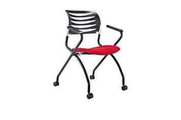 办公椅-折叠培训椅-洽谈椅