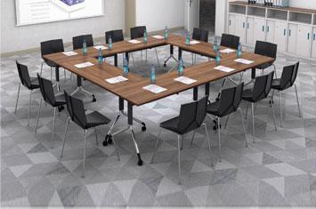 办公培训桌-培训桌-公司职员培训桌-定制培训桌