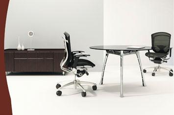 圆形洽谈桌-板式洽谈桌-洽谈会议桌-办公室洽谈桌