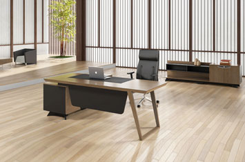 大班台-办公桌-实木大班台-实木老板桌