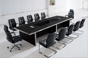 皮质会议桌-办公会议桌-办公室会客桌-会议桌价格