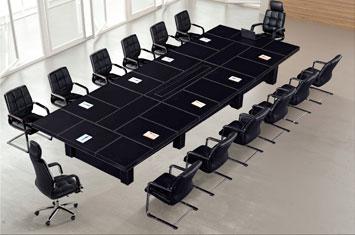 办公室会议桌-商务会议桌-办公会议桌-皮质会议桌