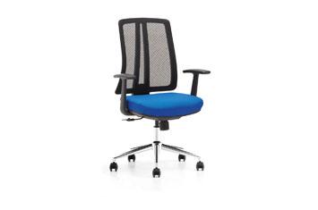 定做电脑椅-办公椅-员工椅-网布电脑椅