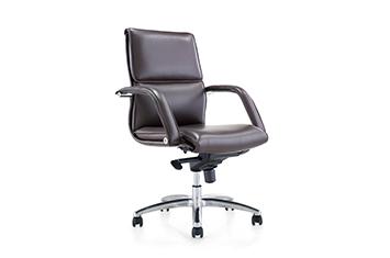 皮椅-老板办公椅-牛皮旋转椅-定制老板椅