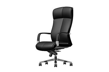 老板豪华办公椅-办公升降转椅-牛皮大班椅