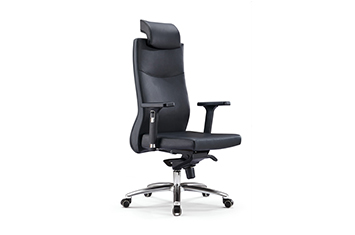 老板办公椅-牛皮办公椅-皮质老板椅-牛皮椅子