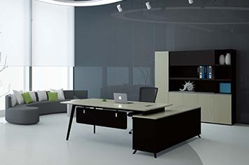 办公老板桌-板式员工桌-定做办公桌