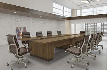 实木会议桌-实木办公家具-实木桌-会议桌-办公室会议桌
