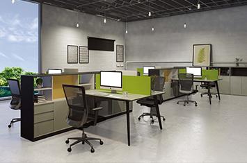 上海办公桌-屏风工作位-屏风隔断电脑桌