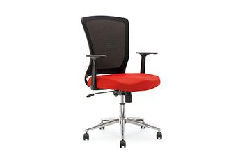 女职员椅-旋转电脑椅-网布转椅-职员转椅