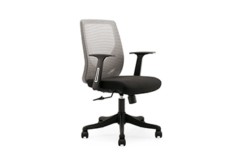 主管椅-员工休闲椅-办公会议椅-网布滑轮椅
