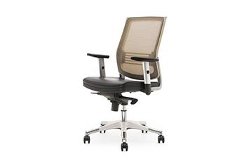 升降网布椅-升降旋转椅-职员椅-办公椅