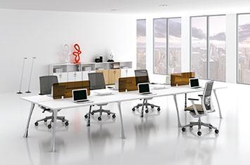 圣尼科员工办公桌