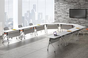 培训桌型-培训桌规格-折叠培训桌