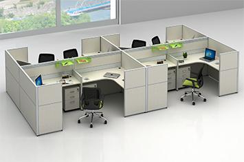 办公屏风-隔断屏风-屏风工作位-屏风办公桌-办公室屏风