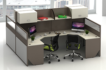 屏风工作位-屏风办公桌-办公室屏风-屏风厂家-办公屏风