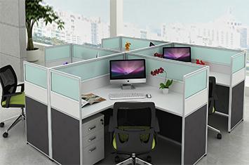 屏风办公桌-屏风隔断-屏风图片-隔断屏风-办公室屏风