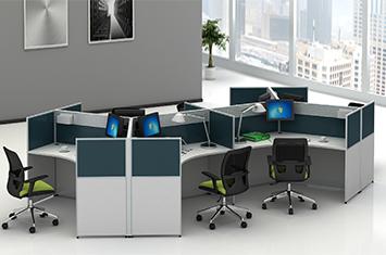 办公桌屏风-屏风办公桌尺寸-屏风办公桌厂家
