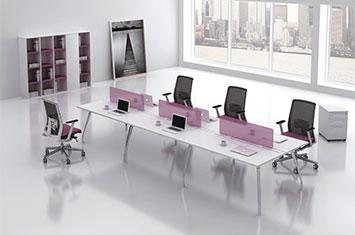 办公桌隔断屏风-办公桌屏风-工作位屏风定制