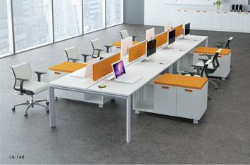 办公桌系列-屏风隔断桌-定制员工工作位