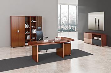 大班台-办公桌-大班台定做-实木老板桌