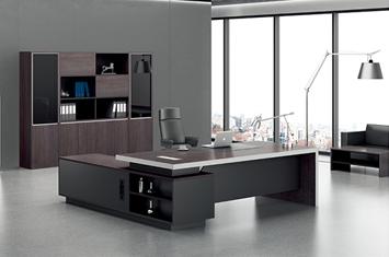 办公大班台-实木办公桌-班台定做-班台尺寸