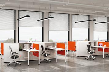 员工办公桌 EY-ZH6043