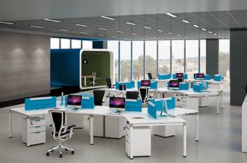 员工办公桌 EY-ZH6045