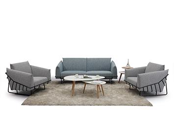 现代布艺沙发-定做办公沙发-休闲创意沙发-布艺沙发