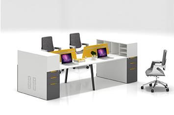 办公桌-家用办公桌-职员办公桌隔断-多人办公桌