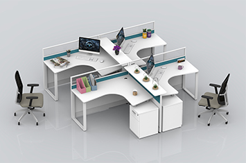 屏风办公桌-办公室屏风-屏风工作位-办公屏风隔断-办公屏风