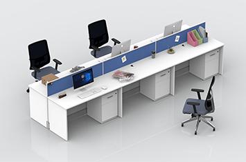 屏风工作位-屏风办公桌-屏风隔断-隔断屏风-办公室屏风