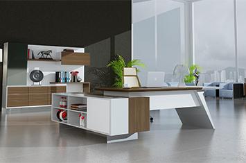 实木办公桌-老板桌-实木大班台