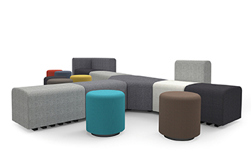 沙发品牌-办公家具直销-创意组合沙发