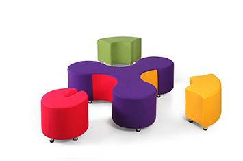 定制布艺沙发-创意沙发设计-办公创意沙发