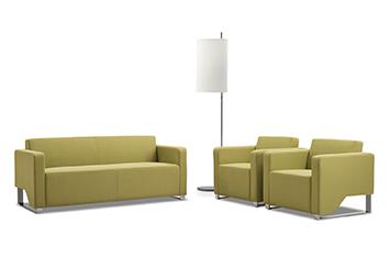 休闲沙发-办公创意沙发-布艺沙发摆放