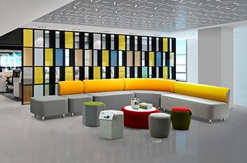 上海布艺沙发-沙发品牌-办公布艺沙发
