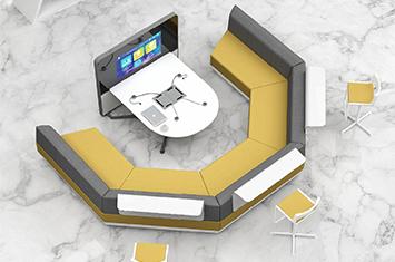 升降桌-电脑桌-智能办公家具-电脑升降桌-智能家具