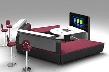 智能家具-智能家具办公桌-升降桌-电脑升降桌-电脑桌