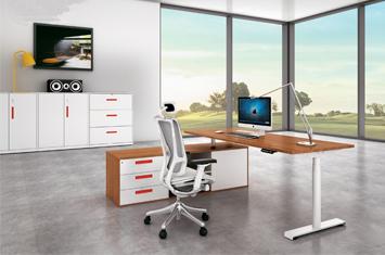 升降桌-电脑升降桌-员工桌-定制办公升降桌-智能家具