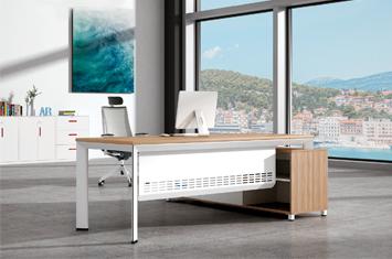 领导办公桌-办公桌设计-电脑办公桌-板式家具-办公桌厂
