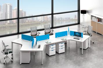 办公职员桌-职员办公桌隔断-屏风办公桌
