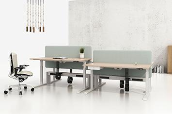 升降办公桌-升降桌-职员智能升降桌