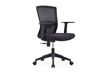 气压升降椅-办公转椅-电脑员工椅-女职员椅