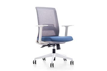 办公电脑椅-网布滑轮椅-电脑转椅